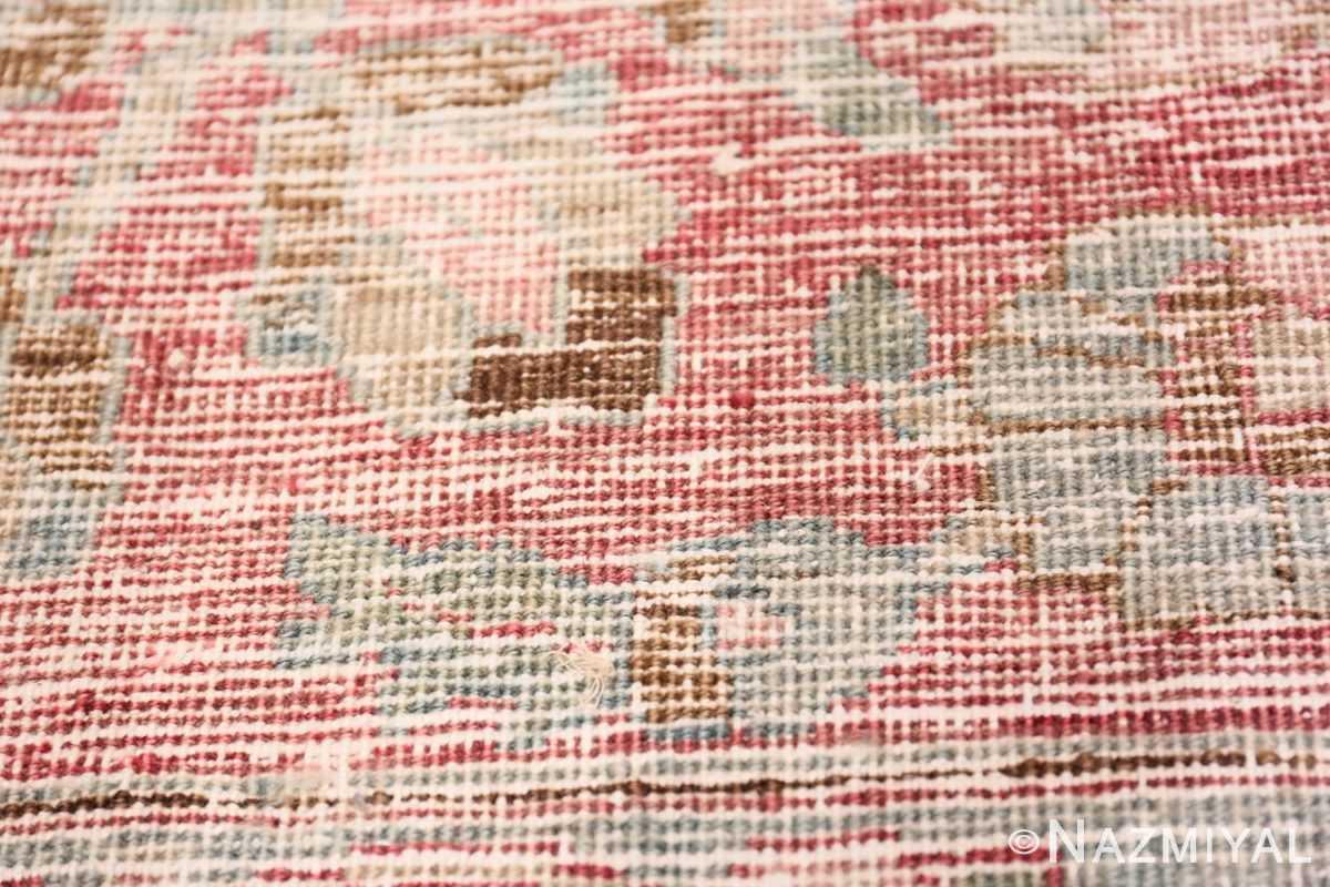 Weave detail Antique Persian Khorassan rug 49840 by Nazmiyal