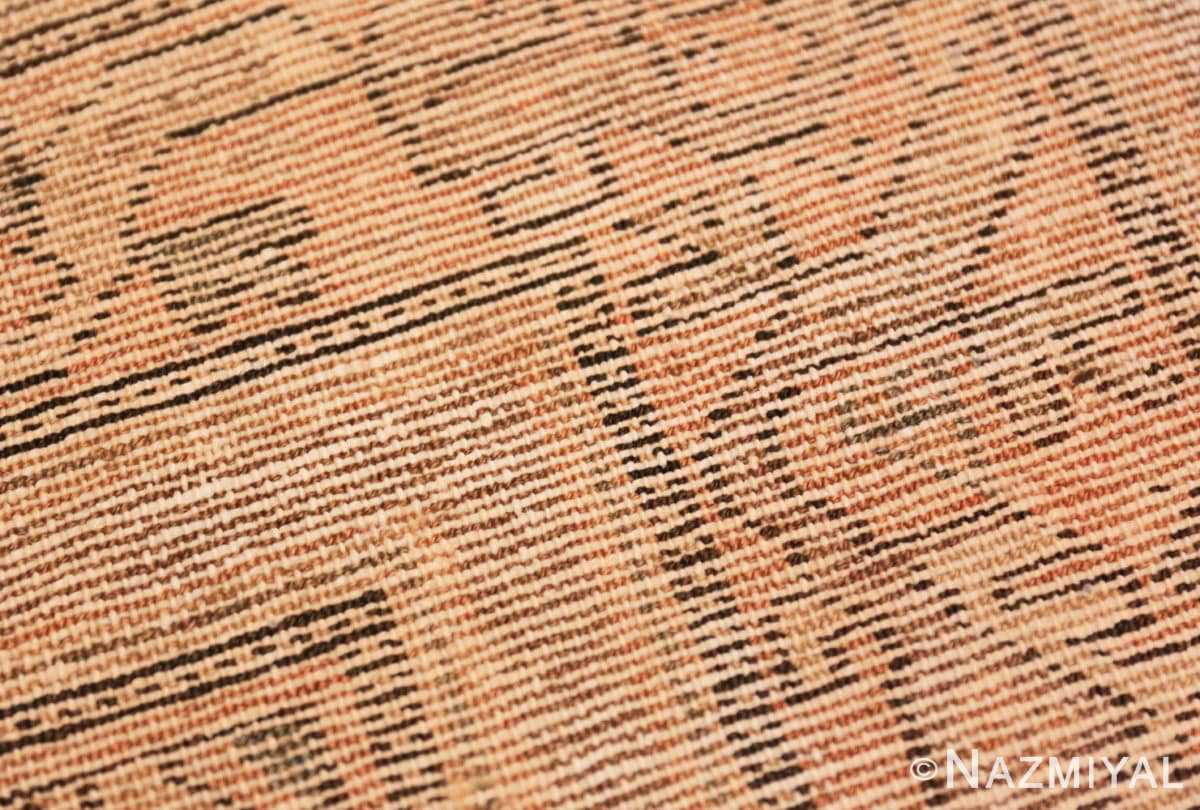 Weave detail Antique Persian Malayer rug 50043 by Nazmiyal