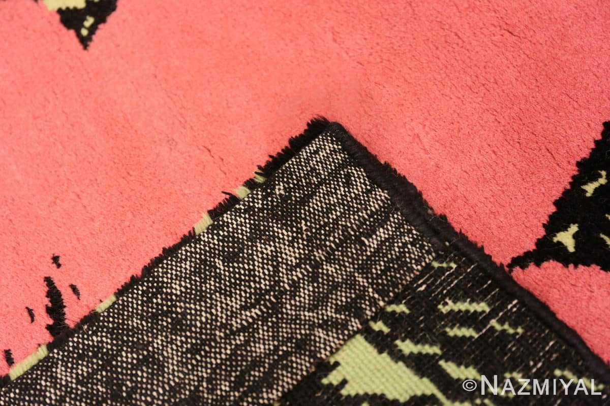 Weave Vintage Andy Warhol Flowers rug 70138 by Nazmiyal