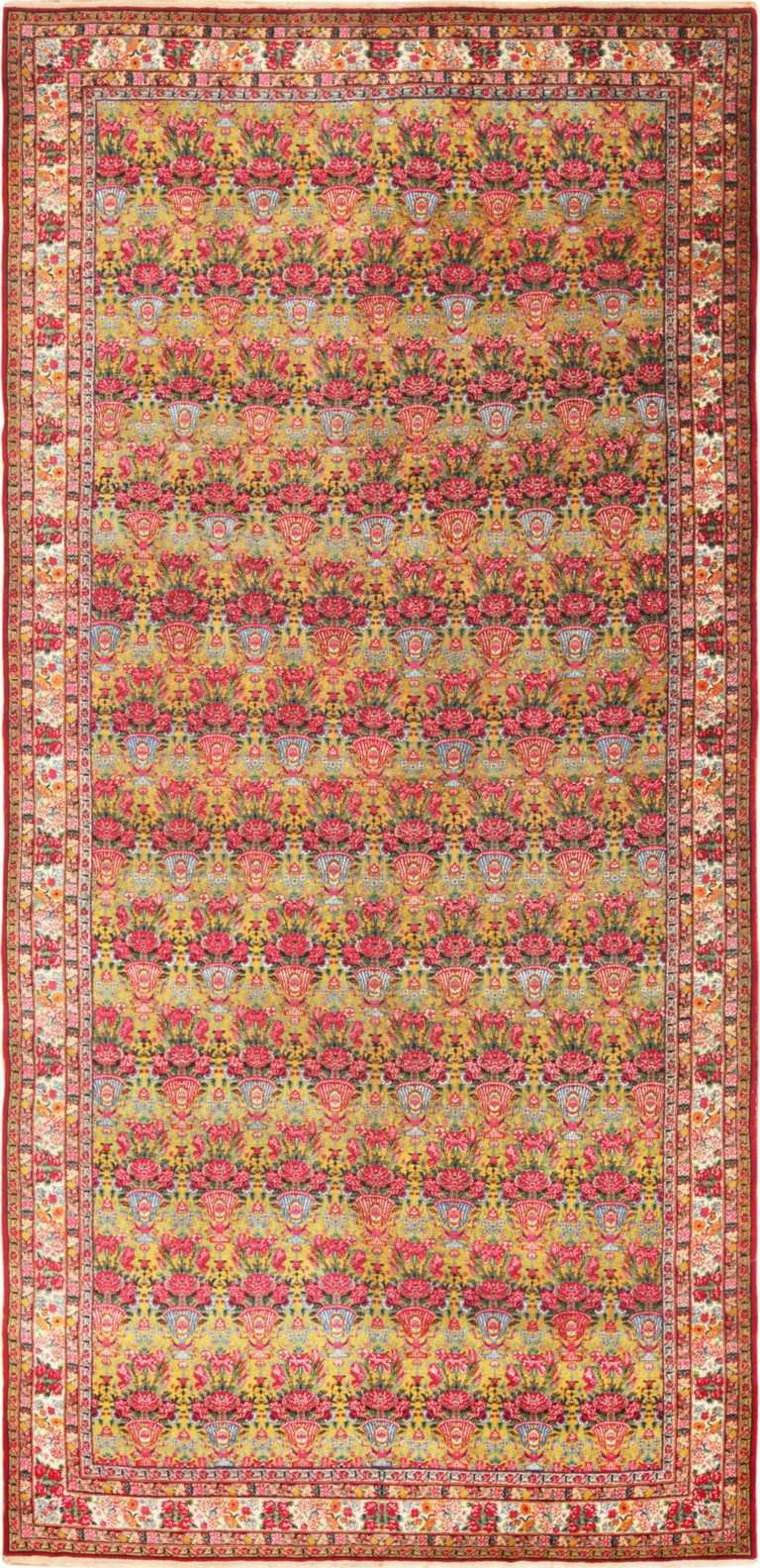 Full view Antique Persian Kerman rug 70166 by Nazmiyal