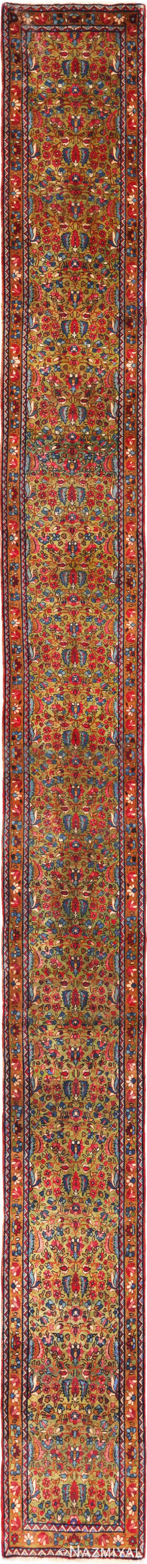 Full view Antique Kerman Persian rug 70165 by Nazmiyal
