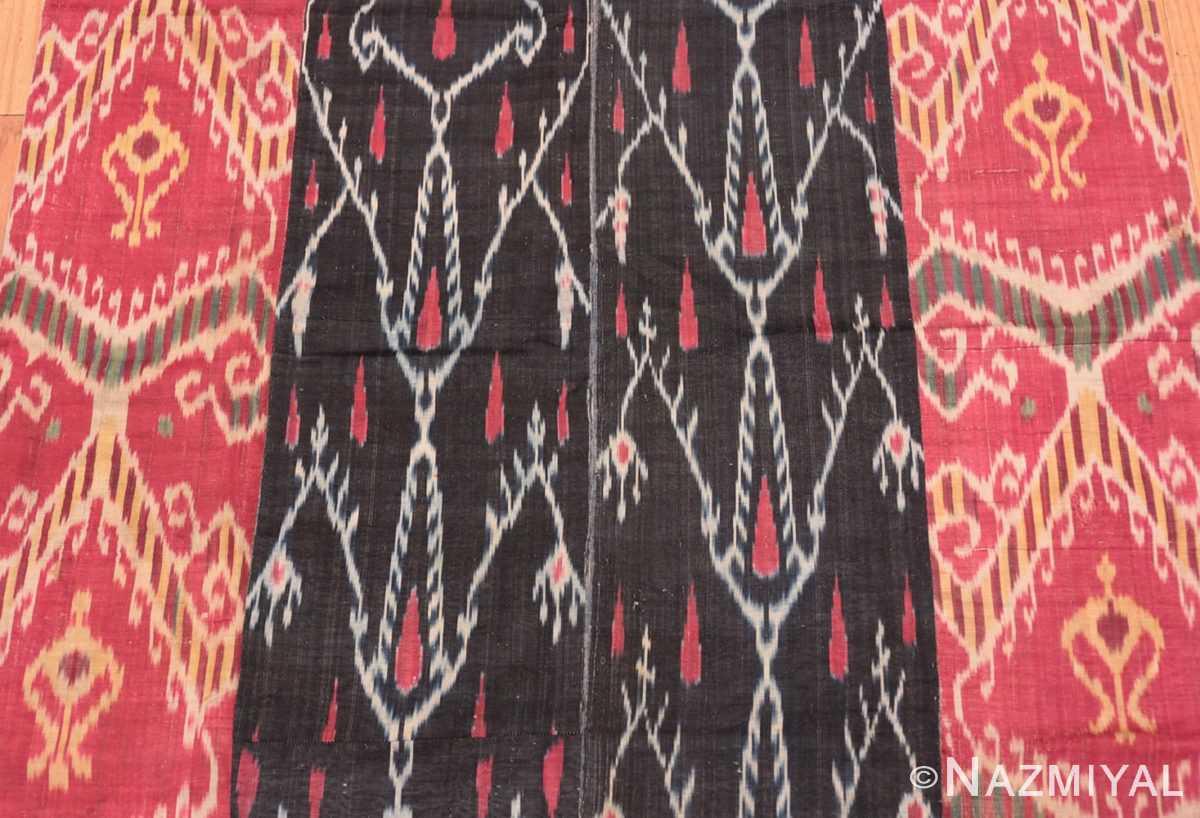 Background Antique Ikat Uzbekistan textile 70173 by Nazmiyal