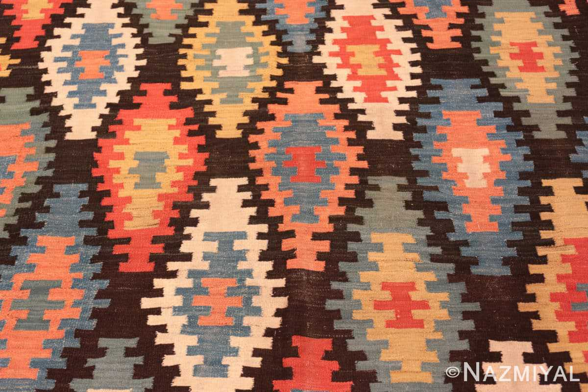 Background Antique Macadonian rug 70172 by Nazmiyal