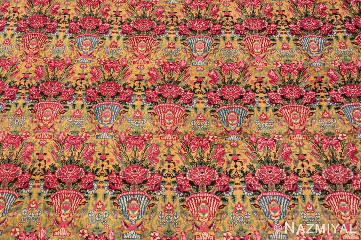 Background Antique Persian Kerman rug 70166 by Nazmiyal