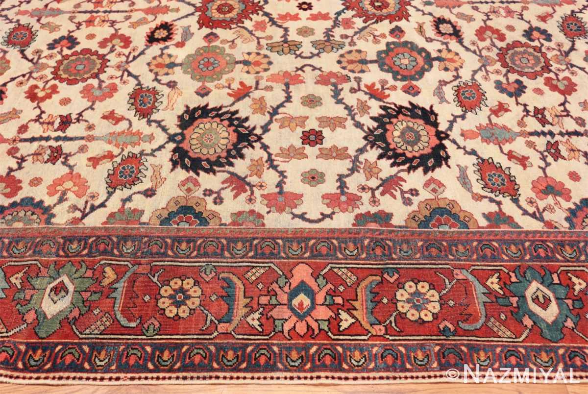 Border Antique Persian Sultanabad rug 70137 by Nazmiyal