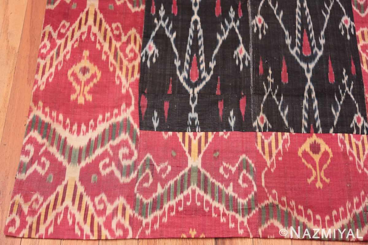 Corner Antique Ikat Uzbekistan textile 70173 by Nazmiyal