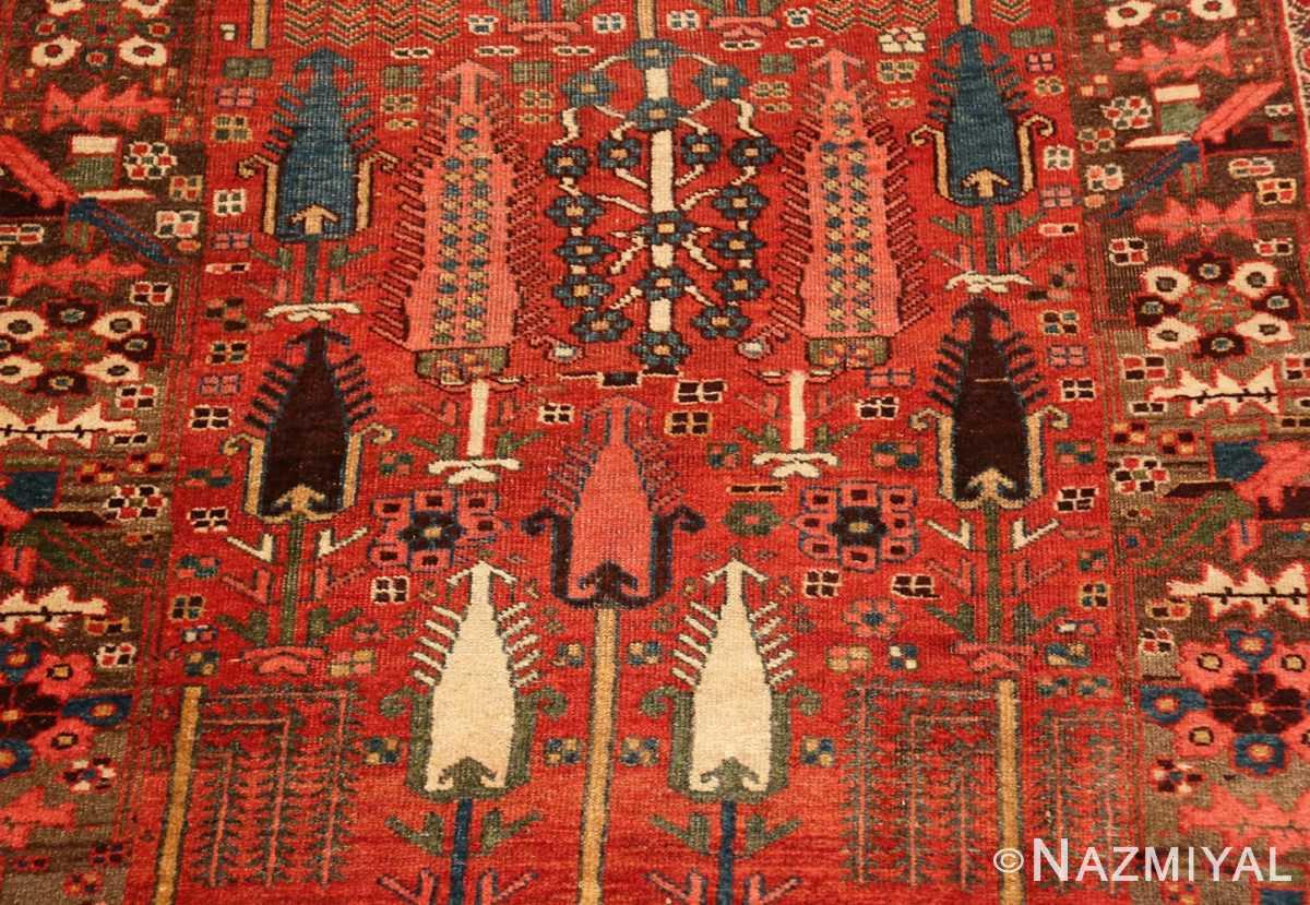 Field Small Antique Persian Bidjar rug 70155 by Nazmiyal
