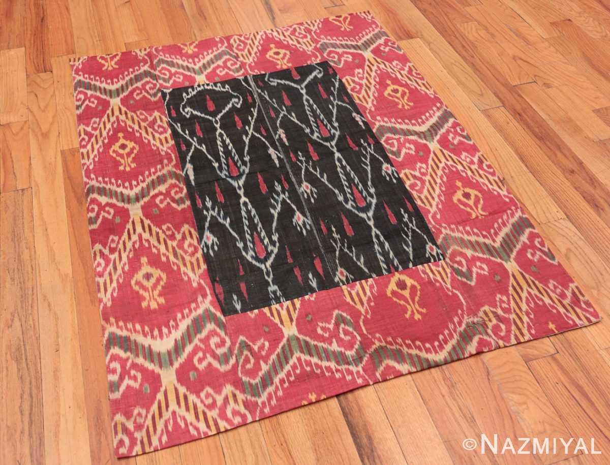 Full Antique Ikat Uzbekistan textile 70173 by Nazmiyal