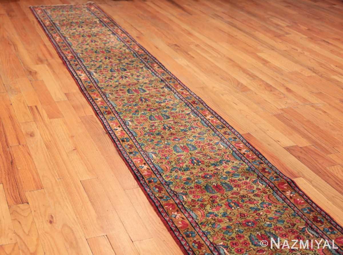 Full Antique Kerman Persian rug 70165 by Nazmiyal