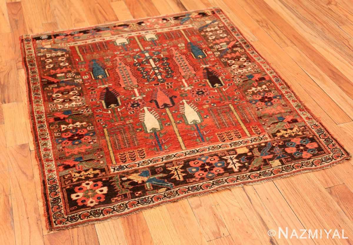 Full Small Antique Persian Bidjar rug 70155 by Nazmiyal