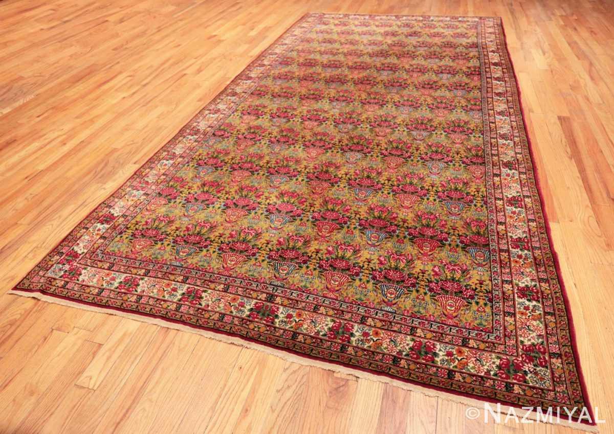 Full Antique Persian Kerman rug 70166 by Nazmiyal