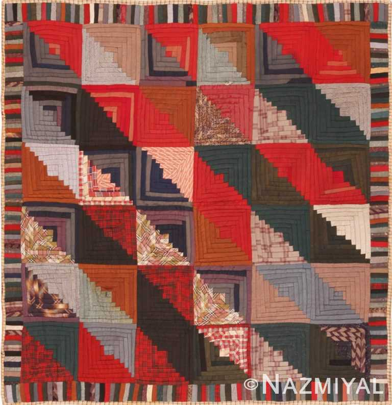 Full view American quilt 70174 by Nazmiyal