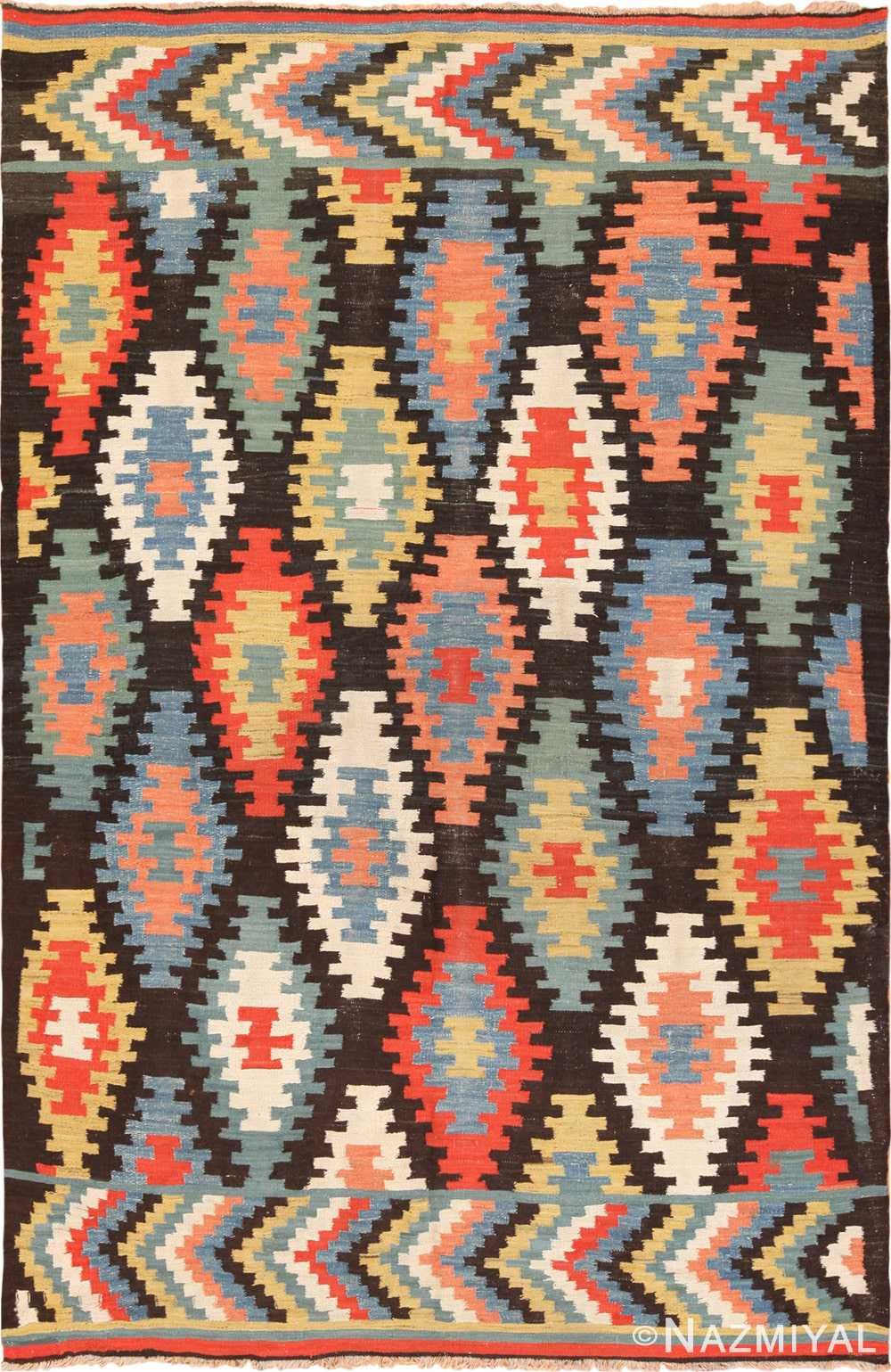 Full view Antique Macadonian rug 70172 by Nazmiyal