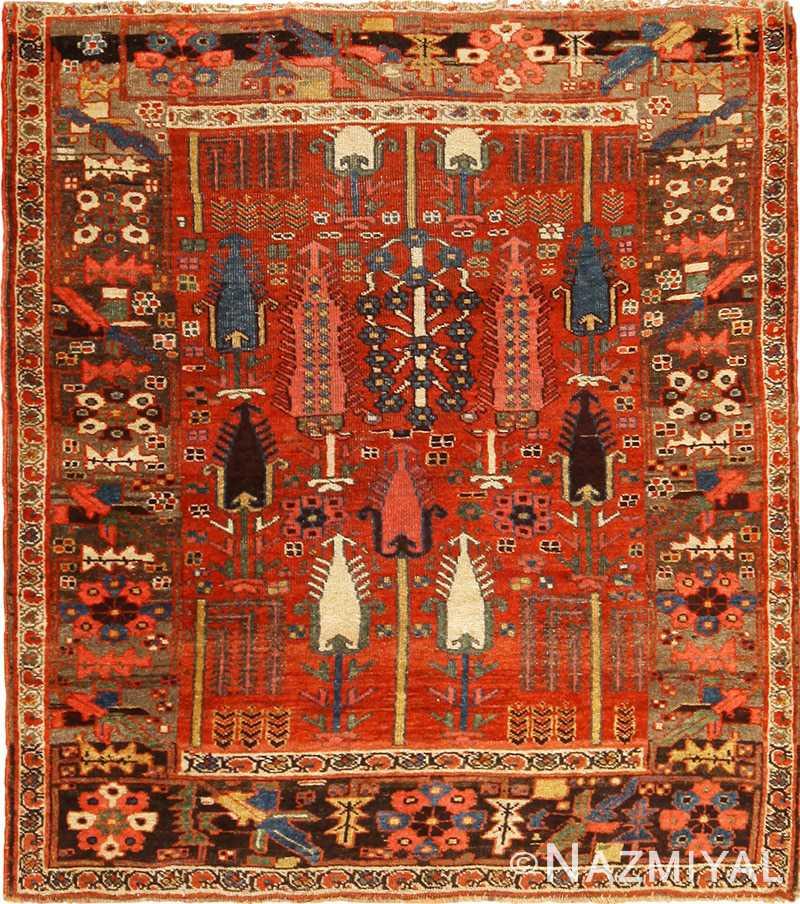 Vintage Persian Rugs: Beautiful Antique Persian Bidjar Rug 70155 By Nazmiyal