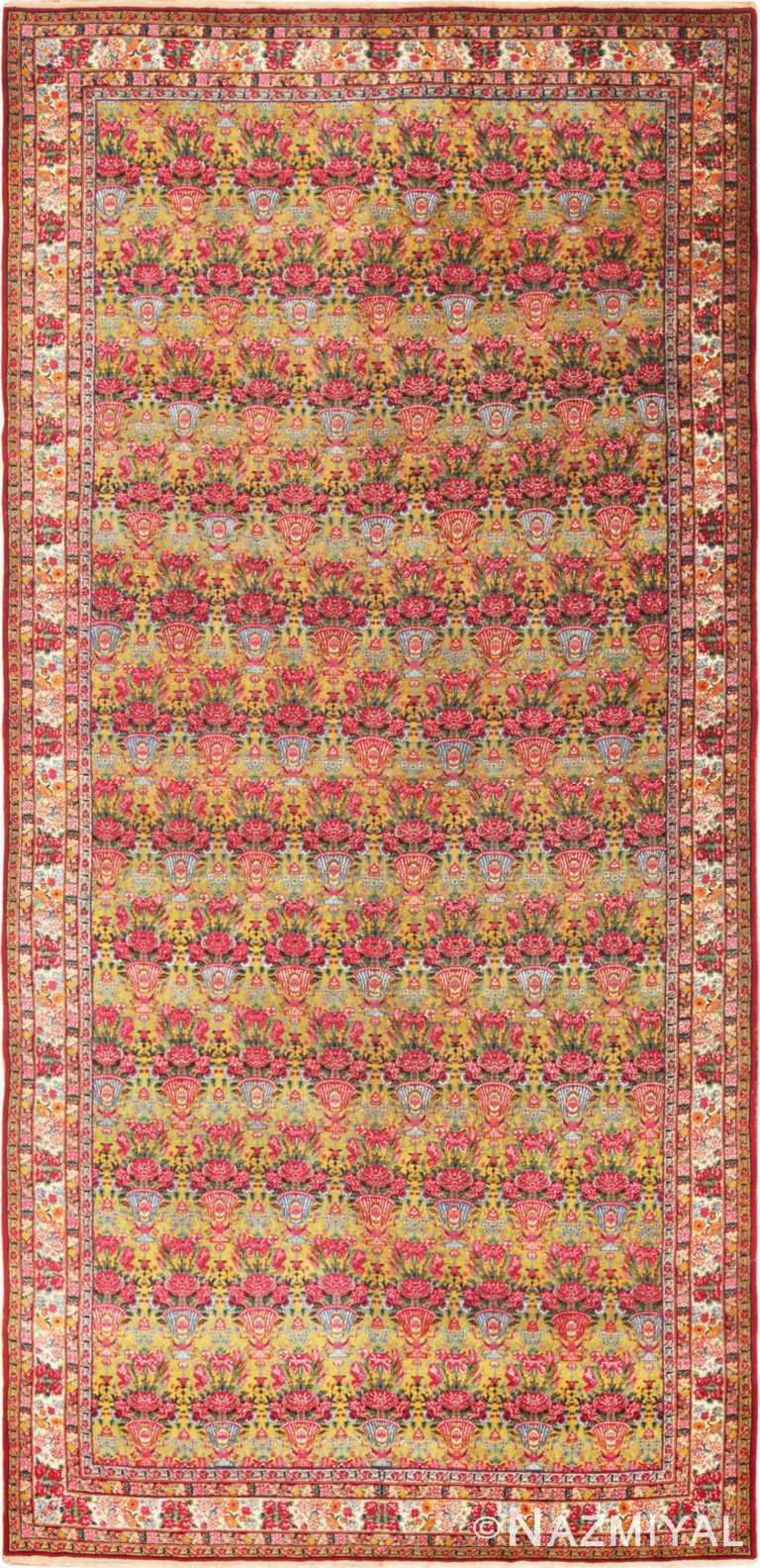 Full view Antique Persian Kerman rug 70166 by Nazmiyal