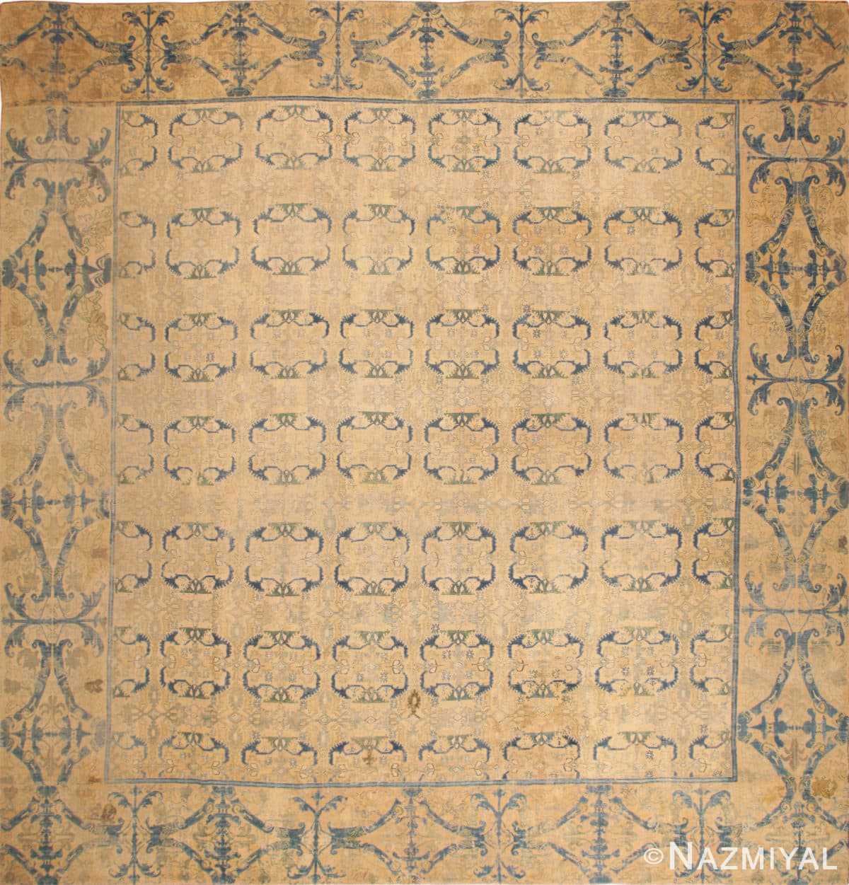 Large Antique Spanish Alcaraz rug 70154 by Nazmiyal