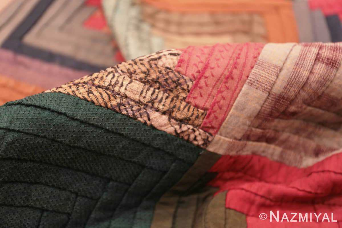 Pile American quilt 70174 by Nazmiyal