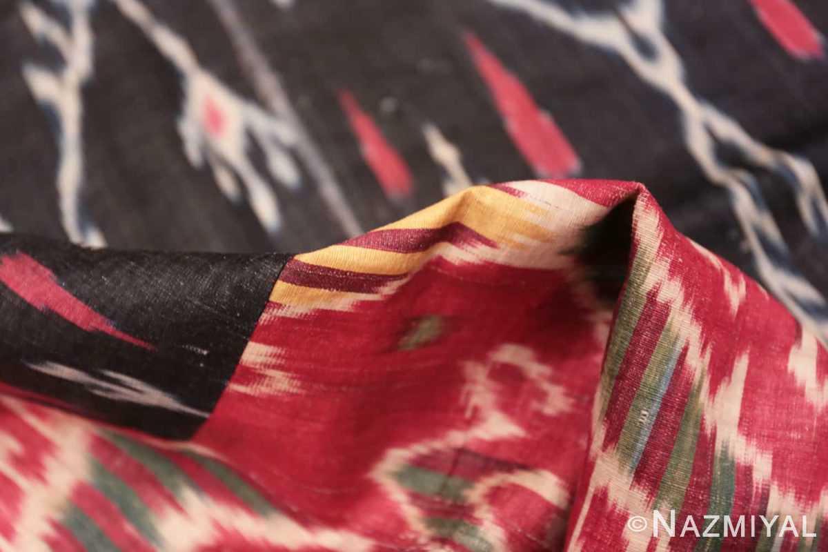 Pile Antique Ikat Uzbekistan textile 70173 by Nazmiyal