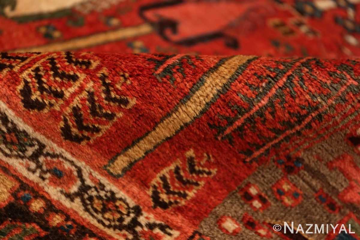 Pile Small Antique Persian Bidjar rug 70155 by Nazmiyal