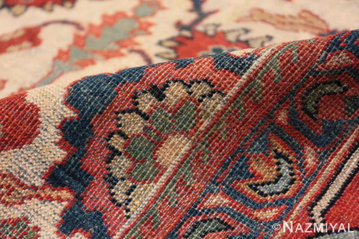 Pile Antique Persian Sultanabad rug 70137 by Nazmiyal