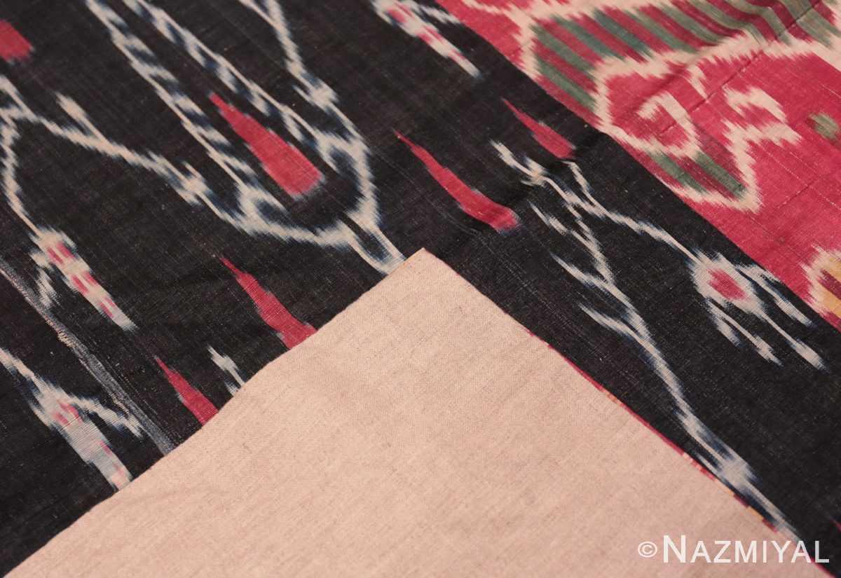 Weave Antique Ikat Uzbekistan textile 70173 by Nazmiyal