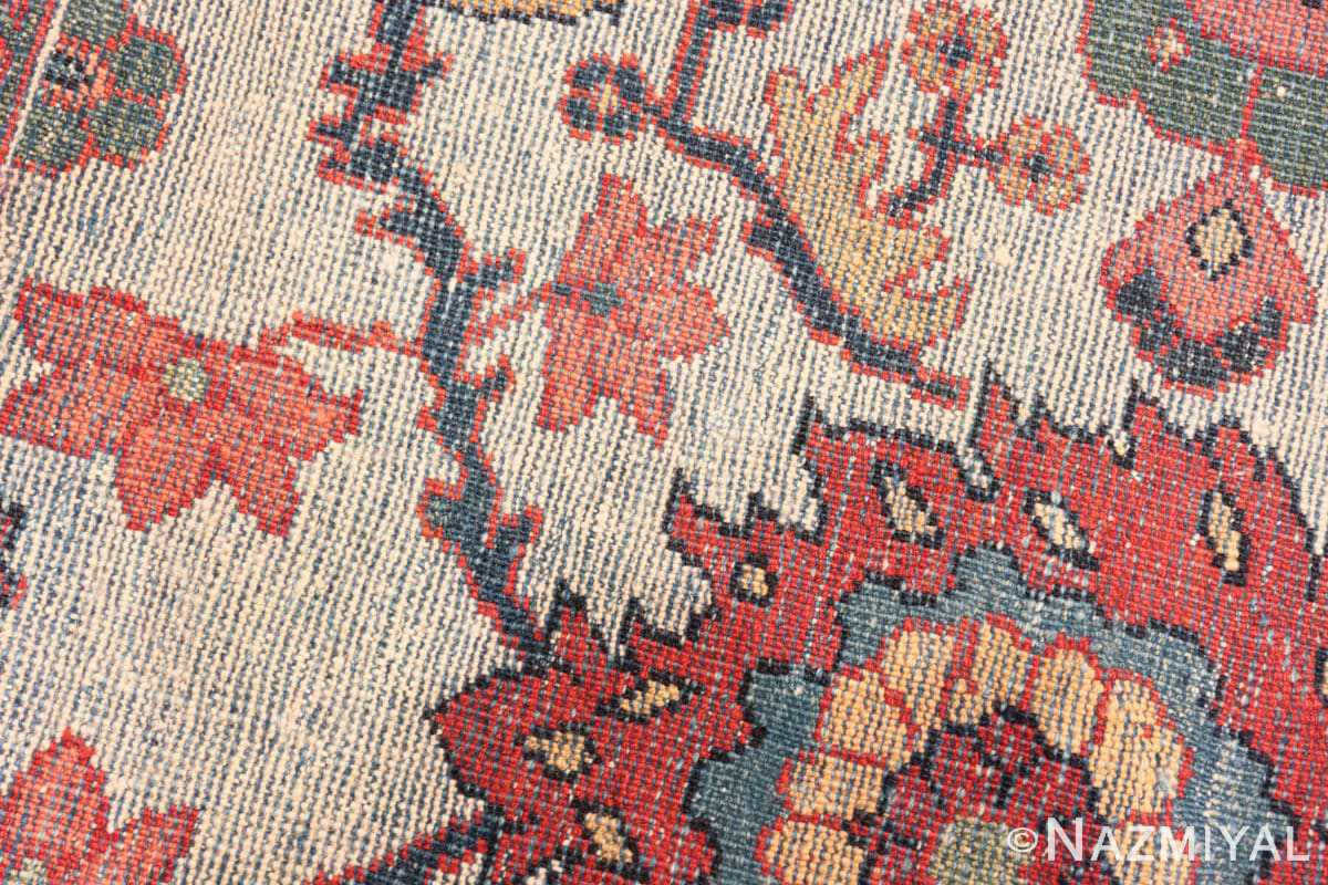weave detail Antique Persian Sultanabad rug 70137 by Nazmiyal