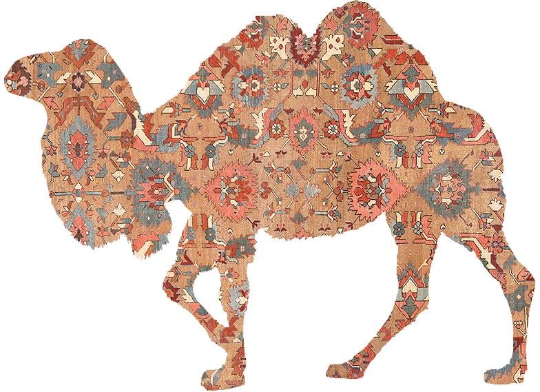Camel Hair Rugs Nazmiyal Antique