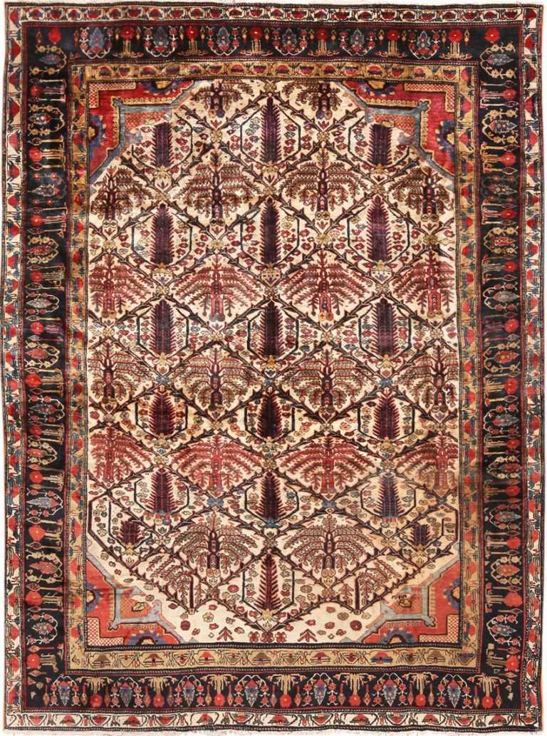 Full view Antique Persian Heriz rug 70226 by Nazmiyal
