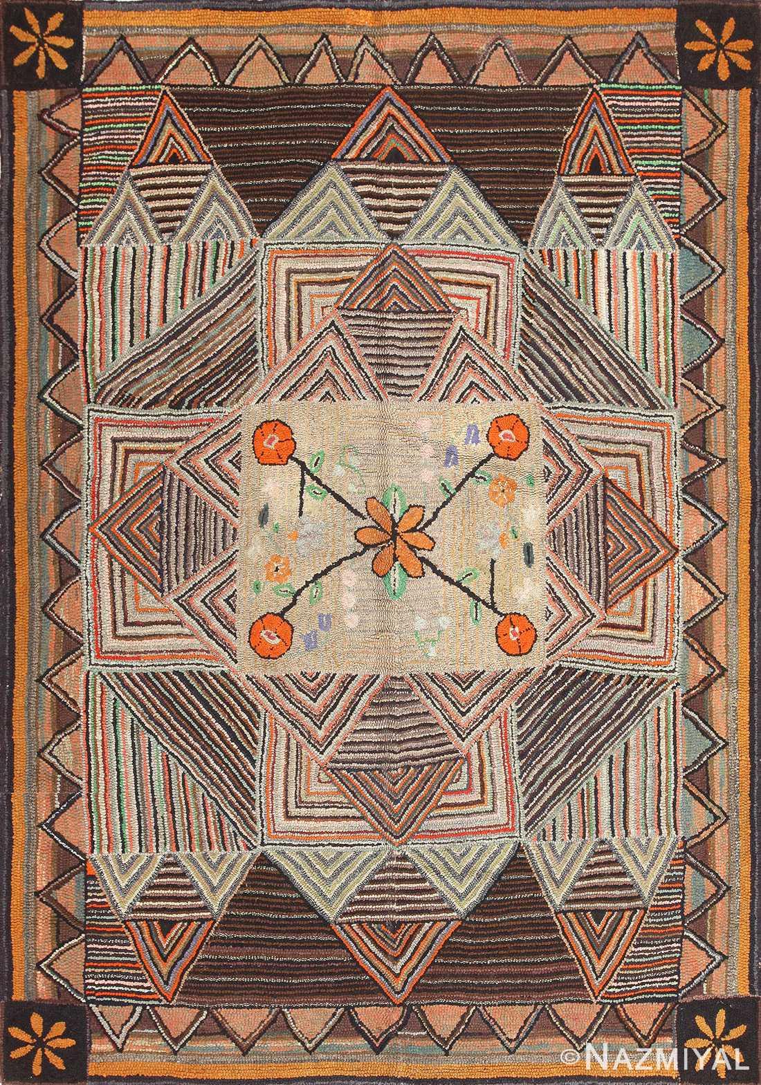 Hooked Rug 50173 Nazmiyal Antique Rugs