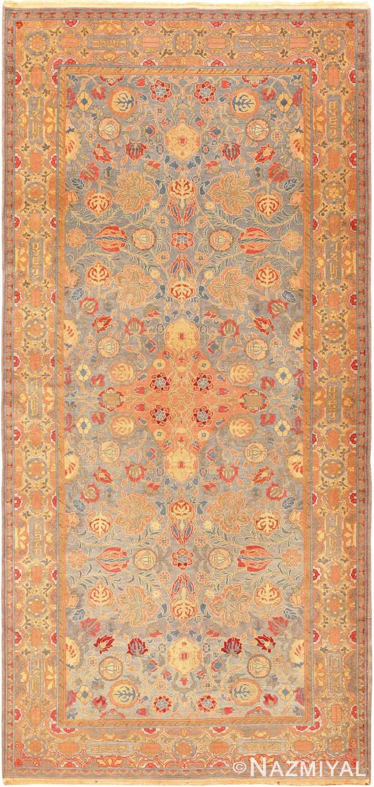Full view antique Israeli Bezalel rug 70176 by Nazmiyal