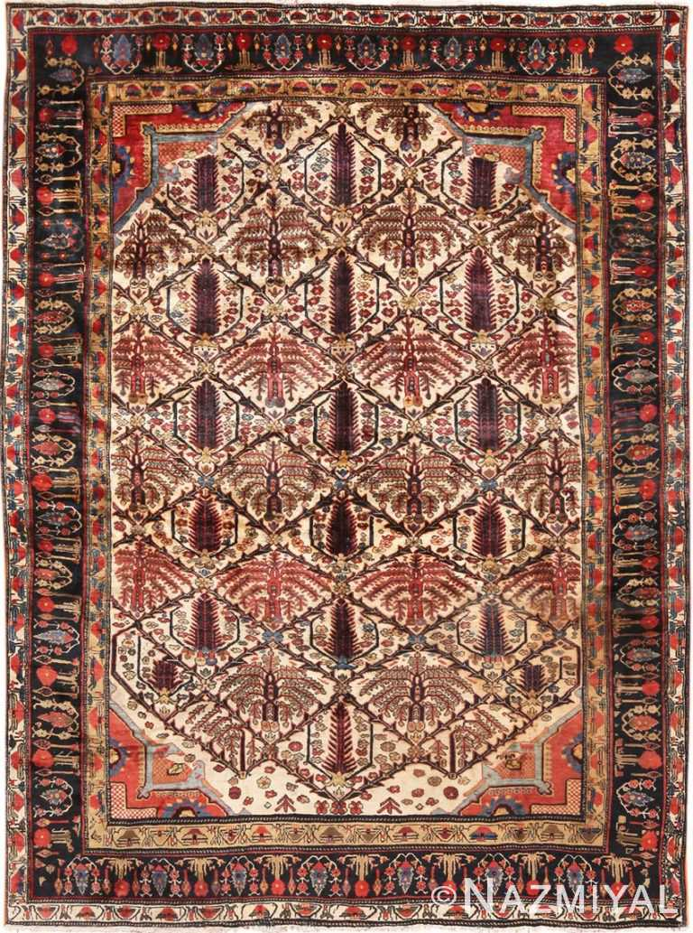 Full view Antique Persian Heriz rug 70226 by Nazmiyal