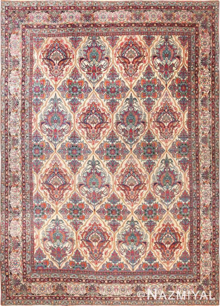 Full view Persian Kerman rug 70219 by Nazmiyal