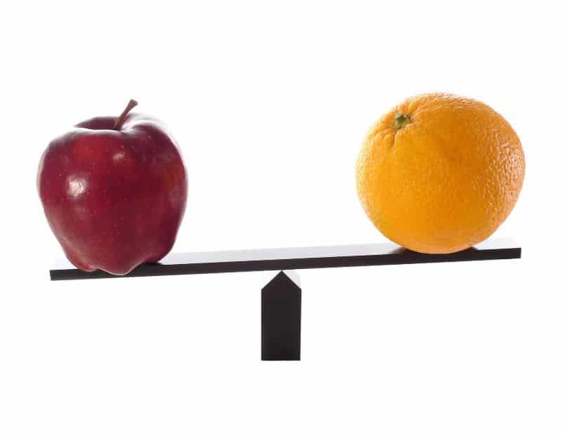 Apples to Oranges | Nazmiyal