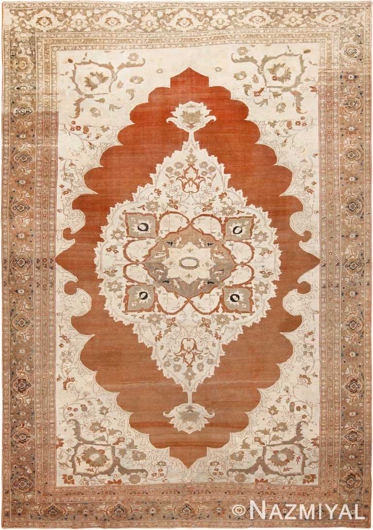 Fine Antique Persian Tabriz Rug #70072 from Nazmiyal Antique Rugs in NYC
