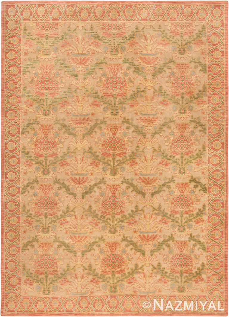 Decorative Room SizeVintage Spanish Rug #70263 by Nazmiyal Antique Rugs in NYC