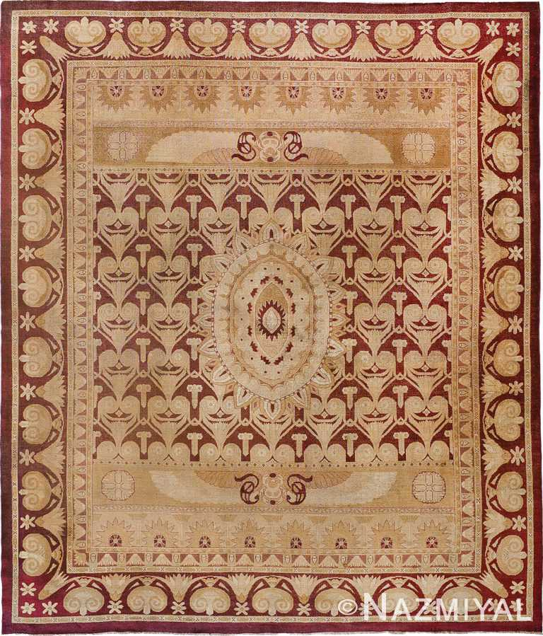 Antique Indian Amritsar Rug Nazmiyal
