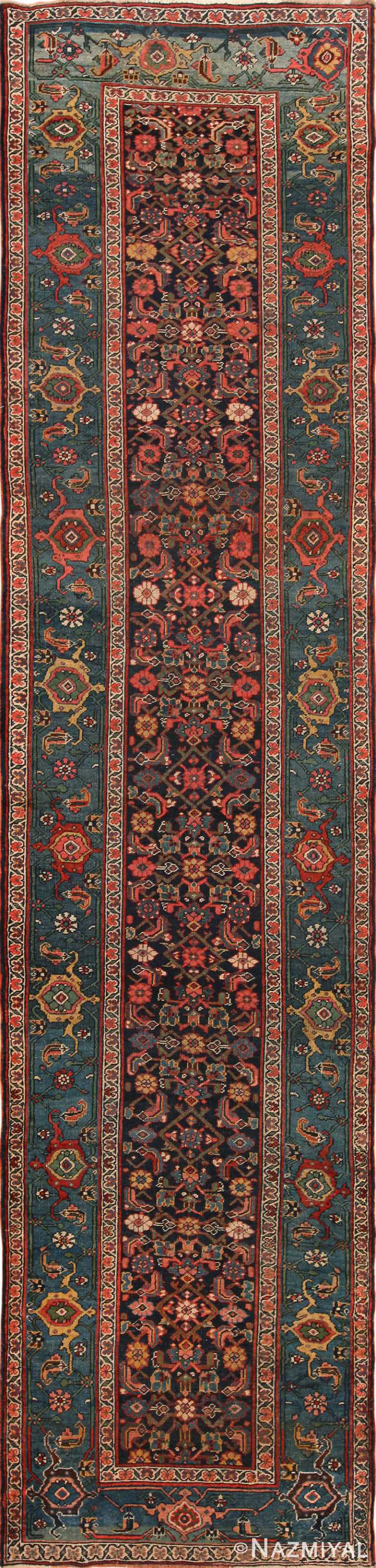 Antique Bidjar Persian Rug 70295 by Nazmiyal NYC