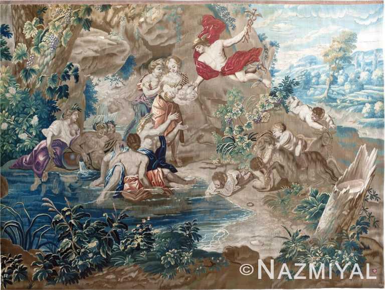 17th Century French Tapestry by Nazmiyal