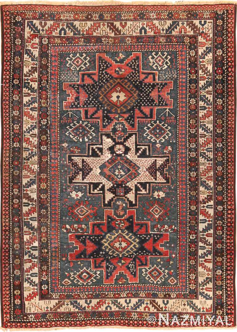 Antique Shirvan Rug 70296 Nazmiyal