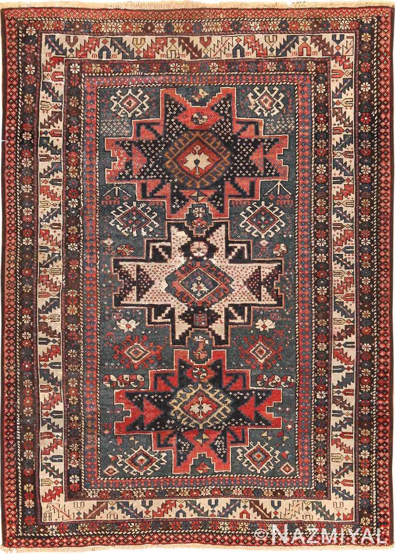 Antique Shirvan Rug 70296 By Nazmiyal