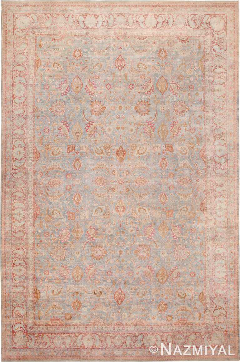 Large Antique Persian Kerman Rug Nazmiyal
