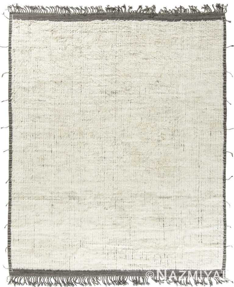 Modern Boho Chic Rug 142743181 by Nazmiyal NYC