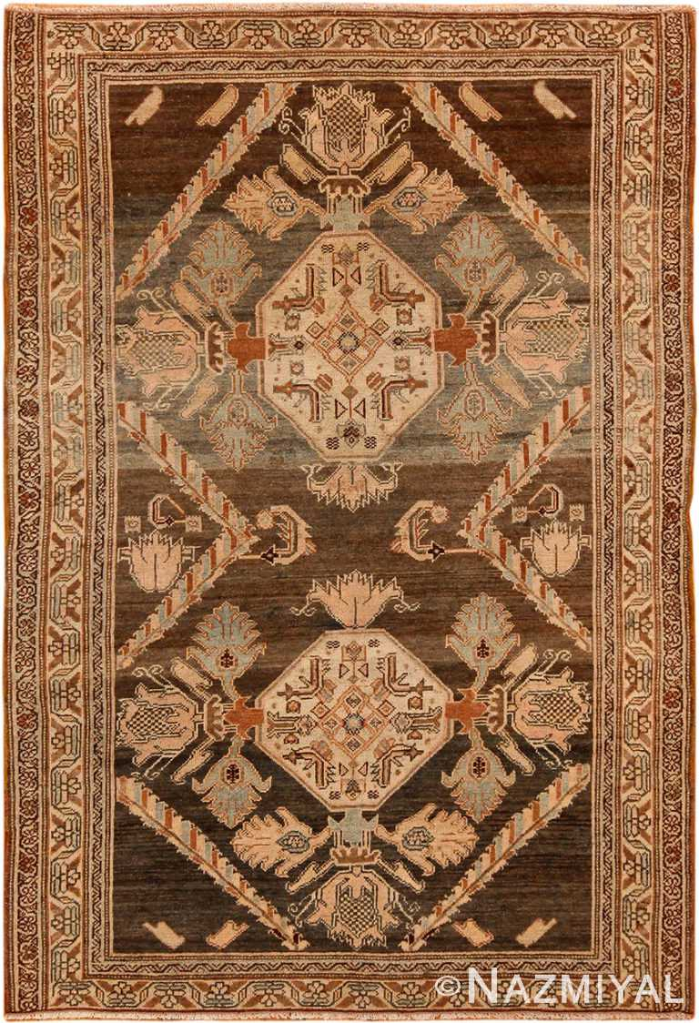 Small Size Antique Malayer Persian Rug 70288 by Nazmiyal NYC