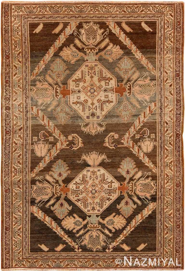 Small Size Antique Malayer Persian Rug 70288 by Nazmiyal NYC