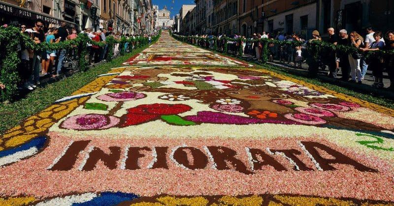 Infiorata Festival Nazmiyal