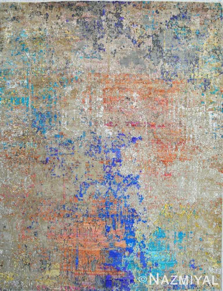 Abstract Contemporary Rug 22704152 by Nazmiyal NYC