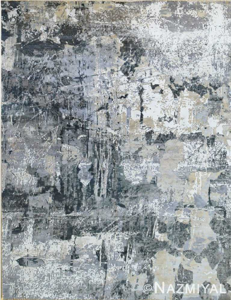 Abstract Contemporary Rug 26075805 by Nazmiyal NYC