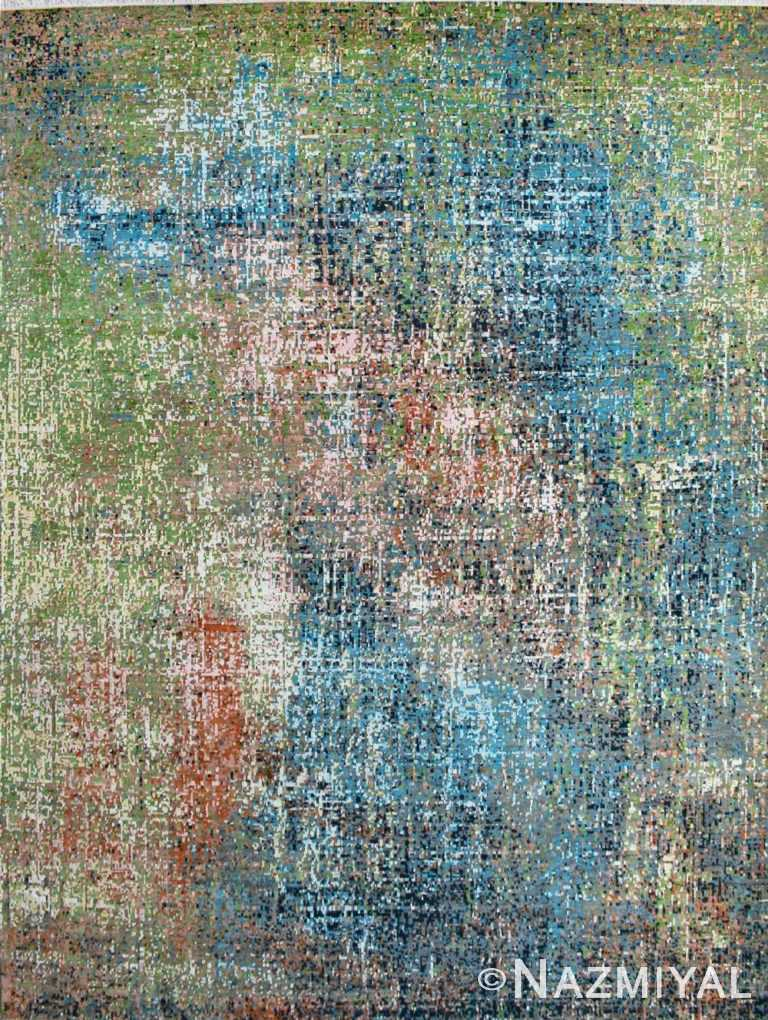 Abstract Contemporary Rug 26132932 by Nazmiyal NYC