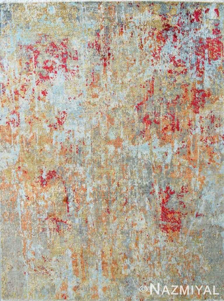 Abstract Contemporary Rug 26446894 by Nazmiyal NYC