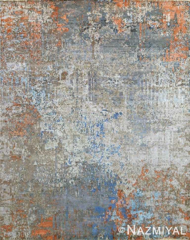 Abstract Contemporary Rug 26705896 by Nazmiyal NYC